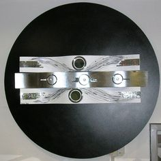 madeira , metal e espelho - 2005