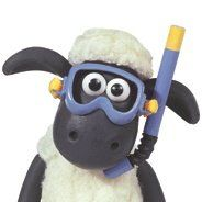 It was this or Shaun in headphones. Shaun the Sheep is brilliant.