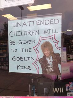 Unattended children will be given to the goblin king