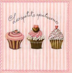 "Papierserviette ""Cupcakes"" € 2,95"