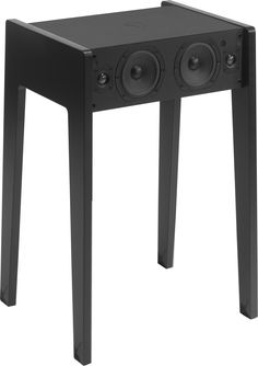 ld 100 speaker laptop iphone ipod compatible w 55 cm black satin by la bote concept design furniture and decoration with made in design bandero office desk 100