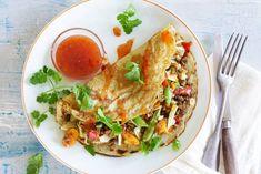 Hartige pannenkoek met vegetarisch gehakt. Op z'n Aziatisch - Recept - Allerhande