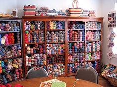 Balls and balls and balls of yarn!!