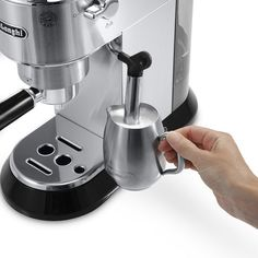 Delonghi DEDICA Pump Espresso Machine Stainless Steel >>> Be sure to check out this awesome product. (This is an affiliate link) Home Espresso Machine, Espresso Machine Reviews, Coffee Maker Reviews, Coffee Maker Machine, Automatic Espresso Machine, Coffee Machines, Cappuccino Maker, Cappuccino Machine, Espresso Maker