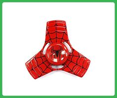 XHBoutique New Style Spiderman Fidget Spinner 3 Mins Red Hand Spinner for Kids and Adults - Fidget spinner (*Amazon Partner-Link)