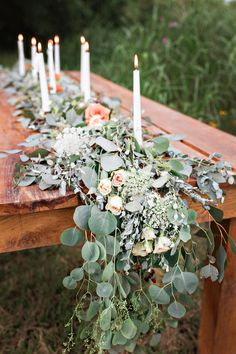 Table garland   Wedding & Party Ideas   100 Layer Cake