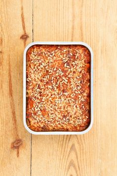 Zucchini and lentil casserole Lentil Casserole, Lentils, Wine Recipes, How To Dry Basil, Zucchini, Nom Nom, Veggies, Healthy Eating, Vegetarian