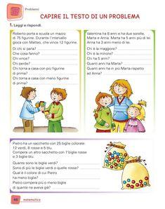 Primary Maths, Primary School, Math Multiplication, Opus, Italian Language, Teaching Math, Math Activities, Problem Solving, 1