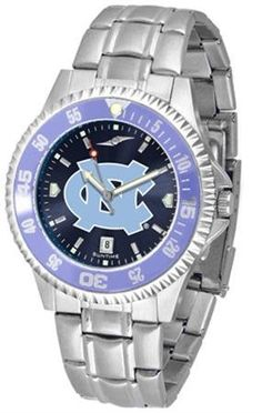 North Carolina Tar Heels UNC NCAA Mens Competitor Anochrome Watch SunTime. $86.95. Men. Links Make Watch Adjustable. Stainless Steel. AnoChrome Dial Enhances Team Logo And Overall Look. Officially Licensed North Carolina Tarheels Men's Stainless Steel Dress Watch