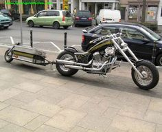 Motorcycle Trailer, Trike Motorcycle, Expedition Trailer, Go Kart, Bobber, Cycling, Vehicles, Trucks, Cars