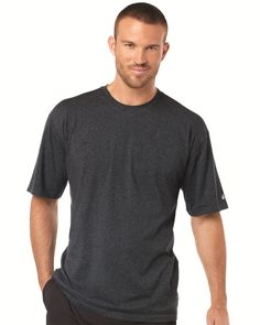 The weather is getting hotter. Want to show your unique style? Badger - Performance Cotton Short Sleeve T-Shirt - 4920 is your good choice. The material is 4.0 oz., 95/5 cotton/spandex. The colors are abundant. You can choose among seven colors. The other features are: Moisture-management/anti-microbial performance fabric, double-needle stitched hem with tack, badger Sport Shoulder for maximum movement and badger heat seal logo on left sleeve. They are all attractive.
