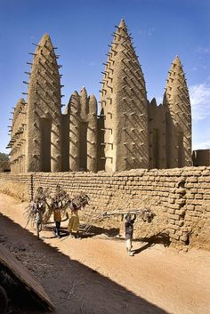 Carrying Firewood in Mali