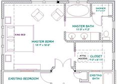 Best Floor Plan For A 8X14 Bath And 11X13 Bedroom Master 400 x 300