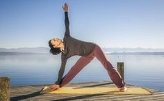 Yoga For Inner Thighs - Open Extended Triangle Pose