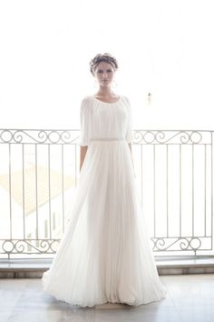 Gia - StudioAlma Bridal. The very definition, the epitome of Greek Goddess!!!