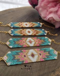Wooden jewelry display, a doll for decoration and coloring, stand for earrings, hanger for jewelry, crafts - Custom Jewelry Ideas Bead Loom Bracelets, Beaded Bracelet Patterns, Beading Patterns, Diy Bracelet, Seed Bead Jewelry, Beaded Jewelry, Handmade Jewelry, Wooden Jewelry Display, Jewellery Display