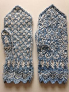 Fingerless Mittens, Knit Mittens, Knitted Gloves, Knitting Socks, Hand Knitting, Fair Isle Knitting Patterns, Mittens Pattern, Knitting Accessories, Knitting Projects
