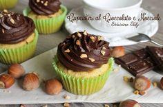 Golosissimi Cupcakes Cioccolato e Nocciole per la merenda dei vostri bimbi,per offrirli ai vostri ospiti o per dolce di compleanno,sono perfetti sempre