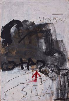 just another masterpiece — Antoni Tapies. Abstract Expressionism, Abstract Art, Abstract Paintings, Art Espagnole, Modern Art, Contemporary Art, Franz Kline, Jasper Johns, Museum