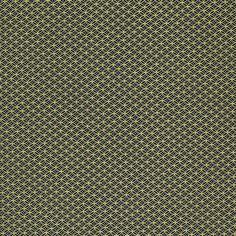 Chiyogami - Overlapping Circles on Black (1/2 sheet)