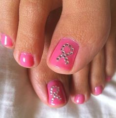 Breast Cancer Awareness from head to toe..we love this! #PinkPower