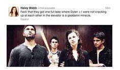 "...having fun... | Tumblr vs. A New ""Teen Wolf"" Episode --------> Haha Scott's face XD"