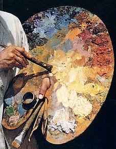 vocabulario en ingles de pintura, paletam pinceles - Buscar con Google
