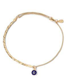 Alex and Ani Precious Metals Evil Eye Cobra Pull Chain Bracelet | Bloomingdale's