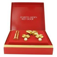 oz Gold Travel Mini EDP Spray Free Earrings and Free Brooch in Gift Box Red Door Perfume by Elizabeth Arden, A 2013 fragrance foundation hall of fame perfume, red door was composed in 1989 by master perfumer carlos benaim to commemorate t. Elizabeth Arden Gift Set, Elizabeth Arden Red Door, Gift Boxes For Women, Gifts For Women, Red Door Perfume, Hematite Bracelet, Beauty Studio, Great Christmas Gifts, Holiday