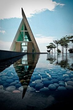 BALI Conrad, Infinity Chapel ---I exceedingly love this as a house. I want it! I want everything about it!