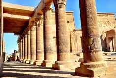 Beautiful Island Temple of Philae in Egypt