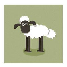 Shaun the Sheep http://brunormoreno.deviantart.com/art/Shaun-The-Sheep-271702583