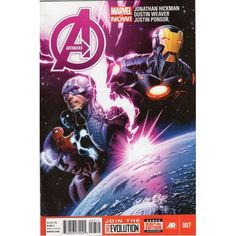 AVENGERS #7 | Marvel Comics | Captian America | VOLUME 5 | The Recycled Find | Comic Books
