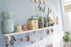 Shabby chic in cucina / Kitchen accessories /Cocina shabby chic