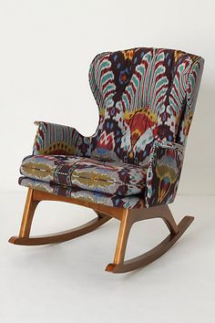 Love. Want. Bit out of my price range though.... Finn Rocker @ Anthropologie