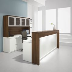 apple receptionist desk - Google Search