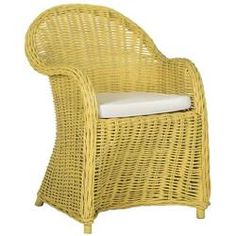 Mistana™ Sephina Armchair & Reviews Wicker Patio Chairs, Side Chairs, Rattan, Outdoor Chairs, Wicker Armchair, Bar Chairs, Room Chairs, Dining Chairs, Barrel Chair