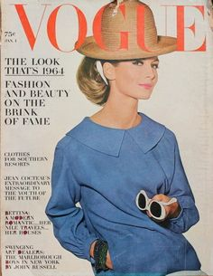 Vogue-January 1964 photographed by Irving Penn.