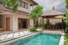 Desa di Bali is a villa complex located in the north of Seminyak. The Villa consist of 12 units 1 bedroom and 2 units of 3 bedroom villa. The location is very startegic far from traffic jam but very close to shops, Gallery, and famous restaurants in Seminyak.