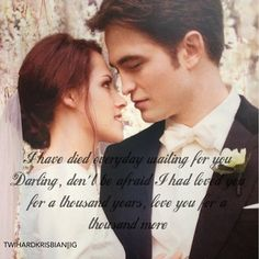 A Thousand Years and forever.