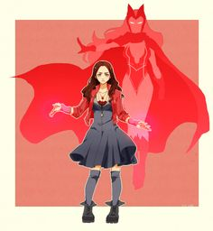 Scarlet Witch MCU and comic