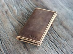 iPhone 6 Wallet Case PERSONALIZED Leather iPhone by JooJoobs