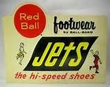 "red ball jets | 1960's ""Red Ball Jets - the hi-speed shoes"" sneakers ..."