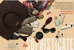 Bloomingdales: The Sophisticate. Whats In Your Purse, What In My Bag, What's In Your Bag, Big Fashion, Daily Fashion, Daily Style, My Style, Inside My Bag, Hey Good Lookin