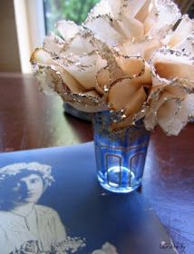 ArtGlitterBlog: Coffee Filter Flowers by Laura Bray