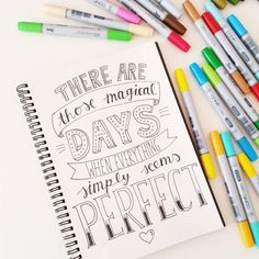 I hope today is one of them << Handlettering by Luloveshandmade Calligraphy Quotes, Calligraphy Letters, Typography Quotes, Typography Letters, Art Quotes, Caligraphy, Hand Lettering Fonts, Creative Lettering, Brush Lettering