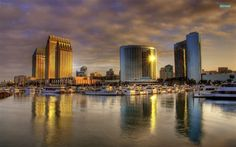 The 20 Best Cities for San Diego San Diego Skyline, San Diego City, San Diego Houses, Santa Fe, Santa Monica, Las Vegas, San Francisco, Big Photo, Exterior
