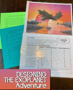Designing the Exoplanet Adventure - Science and Math with Mrs. Science Chemistry, Physical Science, Teaching Science, Earth Science, Life Science, Science Experiments, Biology Review, Ap Biology, Science Store
