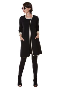 Joan Vass: The Long Knit Jacket