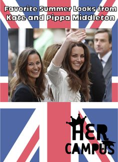 Favorite Summer Looks From Kate & Pippa Middleton